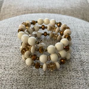Jewelry - Beaded Wrap Bracelet